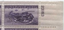 Buy 1944 3c Corregidor, Manila Bay Plate Block of 4 Connected Mint NH Upper R Corner