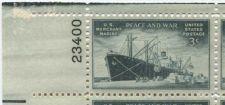 Buy 1946 3c Merchant Marines Plate Block of 4 Mint Never Hinged Upper Left Corner
