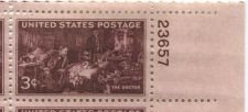 Buy 1947 3c Doctor Stamp Block of 4 Connected Mint Never Hinged Upper Right Corner