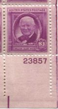 Buy 1948 3c William A White Block of 4 Connected Mint Never Hinge Lower Right Corner