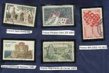 Buy France Lot 1 - set of 5 Architecture Stamps