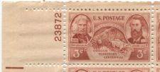 Buy 1948 3c Oregon Territory Centennial Plate Block of 4 MNH Upper Left Corner