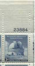 Buy 1948 3c Palomar Observatory Block of 4 Connected MNH Upper R Corner