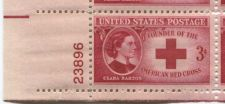 Buy 1948 3c Clara Barton Red Cross Founder Block 4 Connected Mint NH Lower L Corner