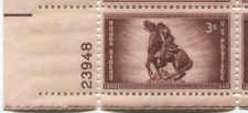 Buy 1948 3c Rough Riders Plate Block 4 Connected Mint Never Hinged Lower Left Corner