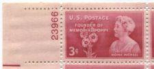 Buy 1948 3c Founder of Memorial Poppy Block 4 Connected Mint NH Upper Left Corner