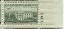 Buy 1950 3c The White House Executive Block 4 Connected Mint NH Lower Right Corner
