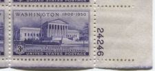 Buy 1950 3c US Supreme Court Judicial Block 4 Connected Mint NH Lower Right Corner