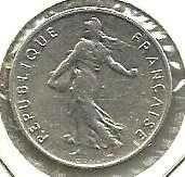 Buy 1965 France 1/2 Franc Coin