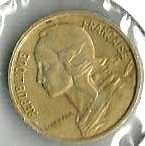 Buy 1965 France 5 Centimes Coin