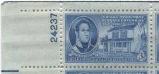 Buy 1950 3c Indiana Sesquicentennial Block 4 Connected Mint NH Upper Left Corner