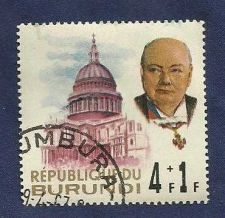 Buy Burundi SCB28 Issued in Memory of Winston Churchill Statesman