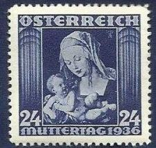 Buy AUSTRIA 1936 USED STAMP - MOTHER'S DAY - MADONNA AND CHILD