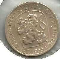 Buy CZECHOSLOVAKIA 1965 Three (3) Korun Coin