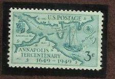 Buy SCOTT 984 Annapolis Tecentenary US 3c