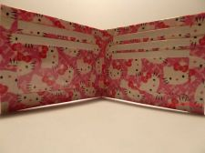Buy HAND MADE DUCT TAPE WALLET NEW DESIGN PINK HELLO KITTY WITH WHITE TRIM