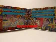 Buy HAND MADE DUCT TAPE WALLET WITH GRAFFITI ALL OVER IT
