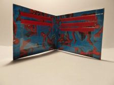 Buy HAND MADE DUCT TAPE WALLET BLUE WITH SPIDERMAN ALL OVER IT