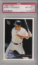 Buy 1996 Topps #98 Bobby Higginson Detroit Tigers PSA 8.5 NM-MT+