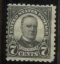 "Buy USA 7c Black-""McKinley"" No.559"