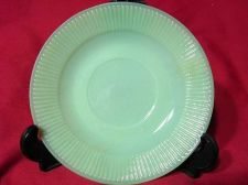 Buy Fire-King Jadite/Jadeite Jane Ray Saucers Set of 5