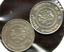 Buy Singapore 10 Cents 1986 & 1990 - Two Coins!