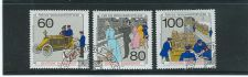 Buy GERMANY SCOTTS #B694-696 COMPLETE USED SEMI POSTAL ISSUE SET OF 1990.