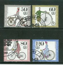 Buy GERMANY SCOTTS # B630-33 COMPLETE USED SEMI POSTAL ISSUE SET OF 1985