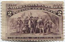 Buy 1893 2c Landing of Columbus 1492-1892 Columbian Never Used Very Nice LH!