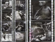 Buy 2003 37c American Filmmaking Set of 10 Used Stamps Good off paper condition