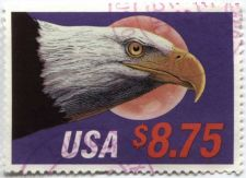 Buy 1988 $8.75 Express Mail Used lightly cancelled Stamp good off paper condition