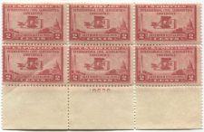 Buy 1928 2c Wright Bros. Plane Mint Never Hinged Plate Block #19679 Rare! CV 30+