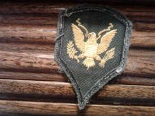 Buy US ARMY SPECIALIST SPEC 4 MILITARY PATCH GREEN W EAGLE