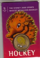 Buy SYDNEY OLYMPICS 2000 Mascot (Millie) Medallion Booklet... HOCKEY