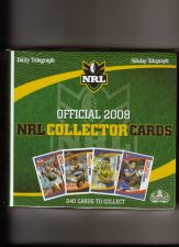 Buy Australian 2008 NRL Collector Cards FULL SET of 240