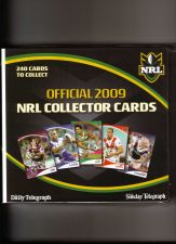 Buy Australian 2009 NRL Collector Cards FULL SET of 240