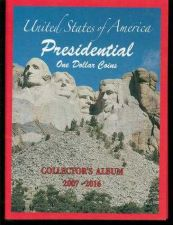 Buy 4 Presidential $1 Dollar Coin Collector US Presidents Album Folders 2007-2016