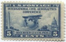 Buy 1928 5c International Civil Aeronautics Conference Globe and Airplane Mint NG
