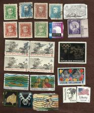 Buy Global Mix 4 Collection of low grade stamps US Brazil and others