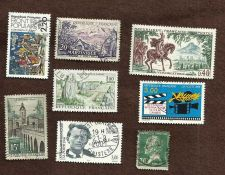 Buy France Lot 2- set of 8 French Stamps