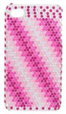 Buy Pink Ombre Stripe Crystal iPhone Cover -NIB
