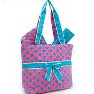 Buy Quilted Polka Dot 3pc Diaper Bag -Pink&BlueNWT