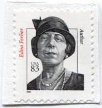 Buy 2002 83c Edna Ferber Self Adhesive Stamp on piece no cancel