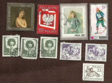 Buy A Collection of Polish Stamps - Used