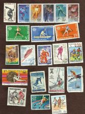 Buy Collection of Olympic Stamps - Used