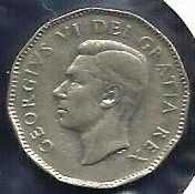 Buy 1949 Canada 5 Cents