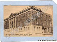 Buy CT Rockville Manual Training And High School Photo type postcard ct_box5~1073