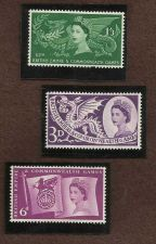 Buy 1958 Sixth British Empire and Commonwealth Games SG 567 to 569,SG567 to SG56