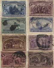 Buy First 8 1893 Columbian Exposition Commemorative Issue Good Used Hinged