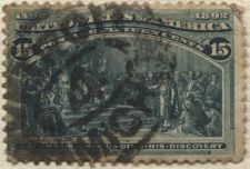 Buy 1893 15c Columbian Exposition Commemorative Issue Good Used Hinged Detroit
